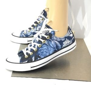 Converse All Star CTAS OX Floral Print Sneakers